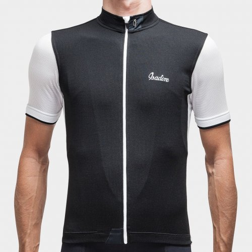 Signature Cycling Jersey Anthracite Black/white 1.0