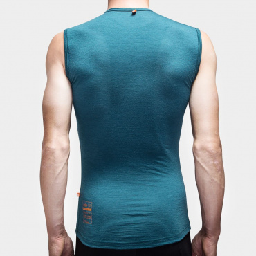 100% Merino SL Baselayer Atlantic Blue