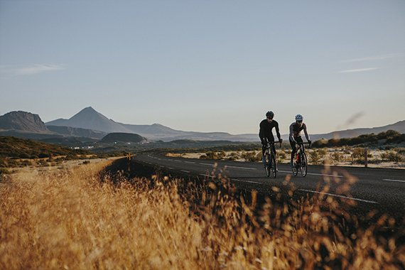 Cycling in Winter: Only with Merino
