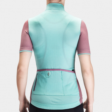 Women's Signature Cycling Jersey Cascade/ Messa Rosa