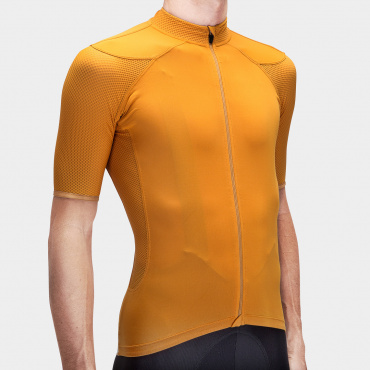 I7A3O7E Echelon Radtrikot Golden Oak