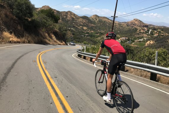 How I was preparing for the Tour of California (with the maps of our routes)