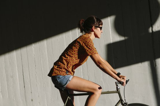 Women's urban bike wear
