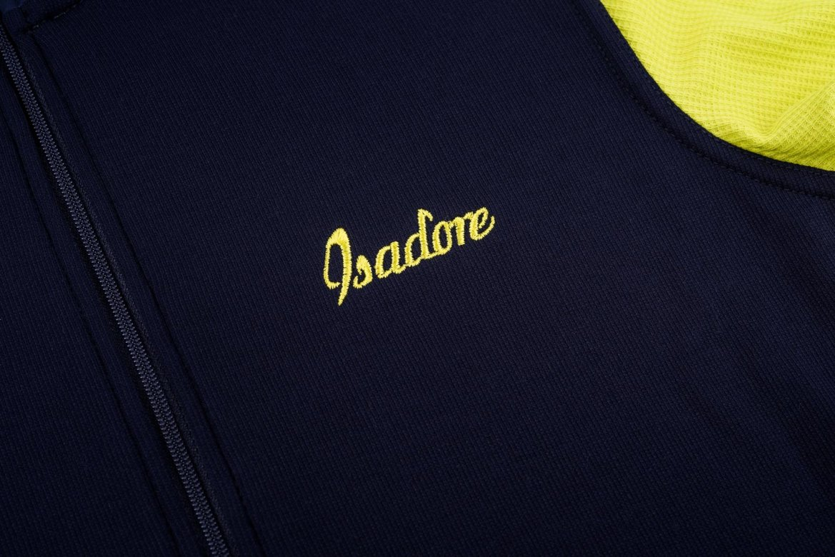 Signature Cycling Jersey Maritime Blue/Sulphur Spring 1.0