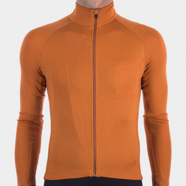 Long Sleeve Jersey Burnt Orange