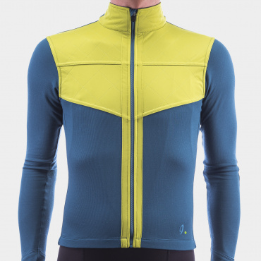 Long Sleeve Shield Jersey Blue Coral