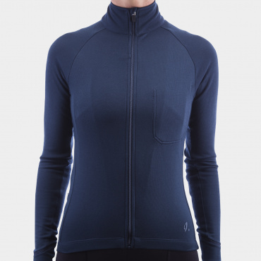 Long Sleeve Jersey Midnight Navy Women