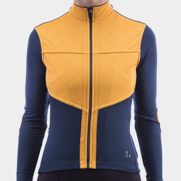 Long Sleeve Shield Jersey Midnight Navy Women