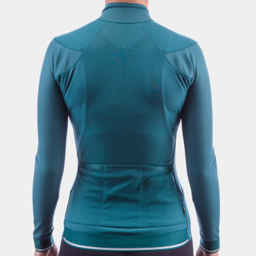 I7A3O7E Echelon Long Sleeve Jersey Atlantic Deep Women