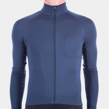 Long Sleeve Jersey Indigo Blue