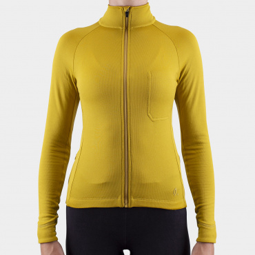 Long Sleeve Jersey Olive Oil Women