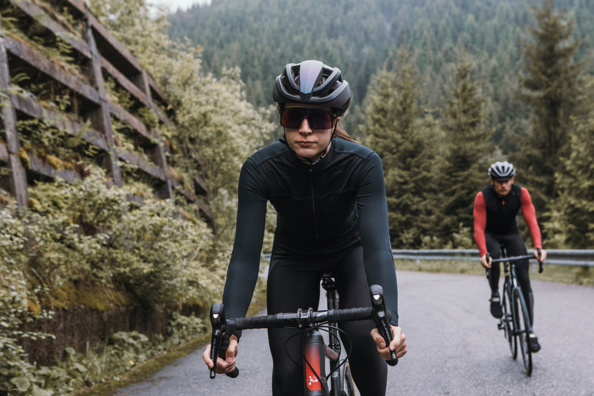 Long Sleeve Shield Jersey Anthracite Women