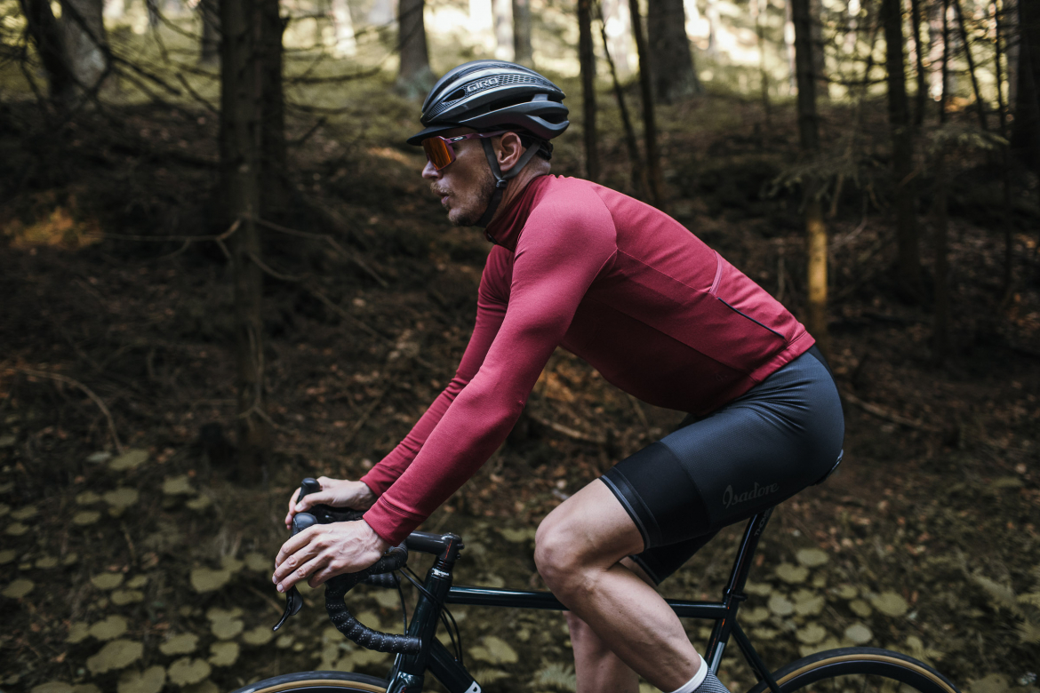 Long Sleeve Jersey Ruby Wine