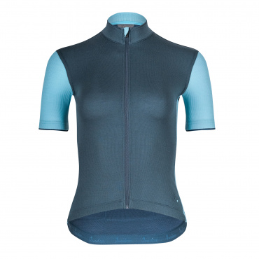 Women's Signature Cycling Jersey Orion Blue/Aquarelle