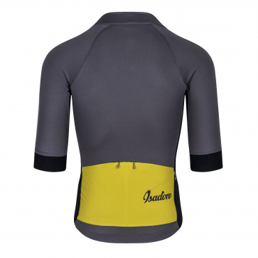 Gravel Jersey Steel Grey