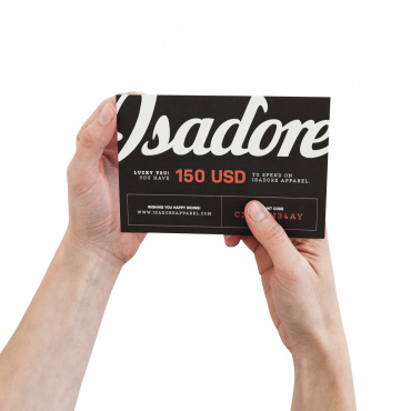 150 USD gift card