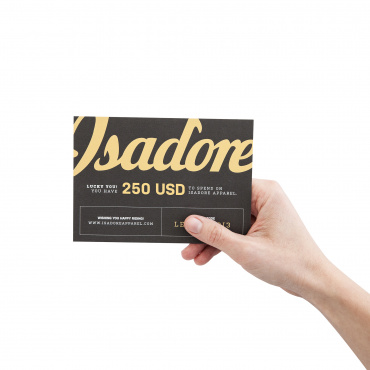 250 USD gift card