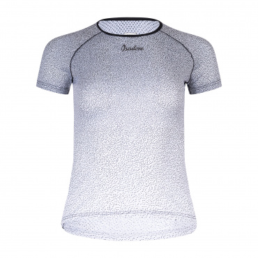 Women's Alternative SS Baselayer Black/White