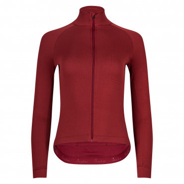 Women's Long Sleeve Jersey Ruby Wine