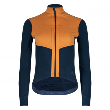 Women's Long Sleeve Shield Jersey Midnight Navy