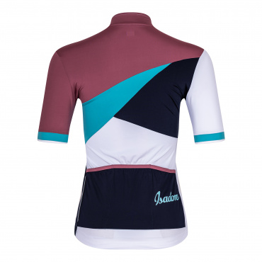 Women's Patchwork Jersey Crushed Berry