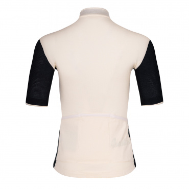 Women's Signature Cycling Jersey Antique White/Jet Black