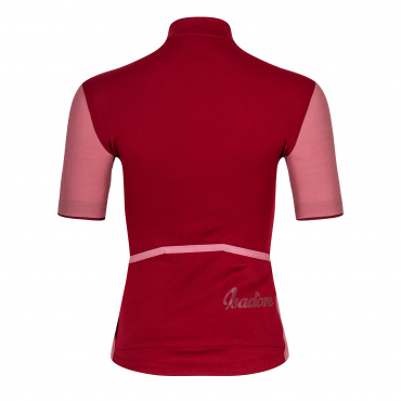 Women's Signature Cycling Jersey Rio Red/Mesa Rose