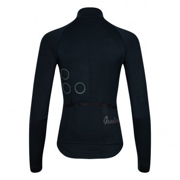 Women's TherMerino Jersey Anthracite Black