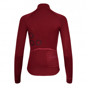 Women's TherMerino Jersey Cabernet