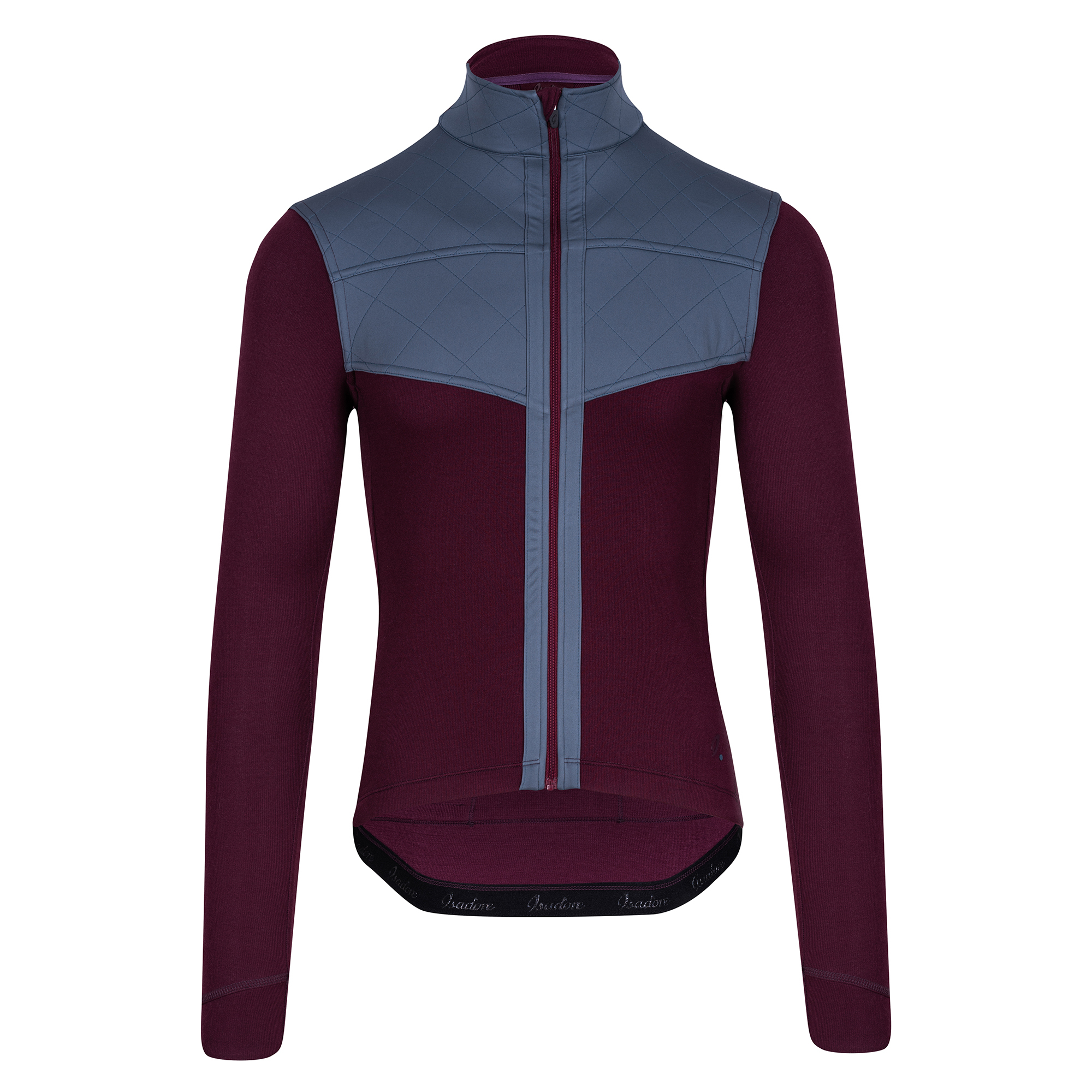 Signature Long Sleeve Shield Jersey Fig
